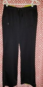 Under Armour active wear pants, black. Size small.